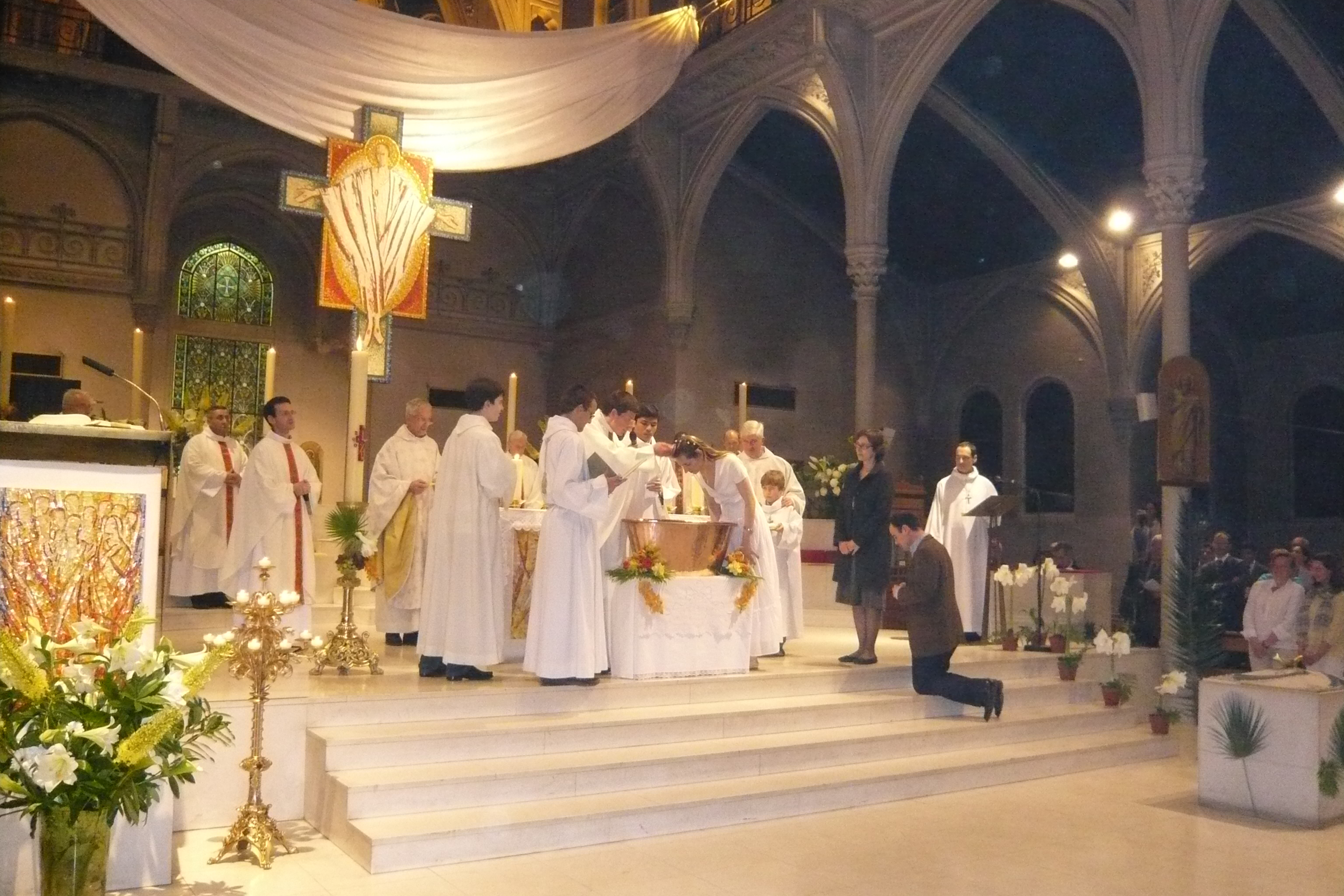 Demander le baptême